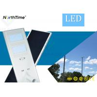 High Power Integrated Solar Energy LED Street Light with Mono USA Sunpower Solar Panel Manufactures
