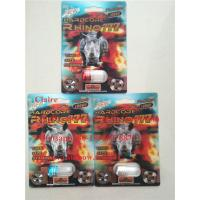 China Top-rated Rhino sex pill 3d packing / Male enhancement pill packing card / 3d blister packing card on sale