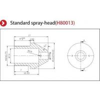 Precise Nozzle Ionizer Accessories , Ionizing Air Nozzle Standard Spray Head Manufactures