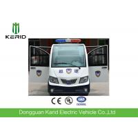 Full Welding Chassis Electric Pick Up Cart With Dismountable Door For Public Area Patrol Manufactures