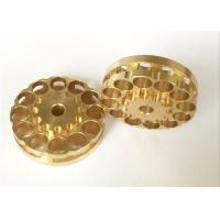 Quality Copper Material Machining Small Metal Parts , Automobile Use CNC Mechanical Parts for sale