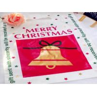 Full Printing  LDPE/ HDPE Heat Seal Flat Printing Plastic Packaging Bags for Christmas Gift /Garment Manufactures