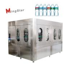 China Plastic 500Ml Pet Bottle Filling Machine Auto Bottled Drinking Water Plant on sale