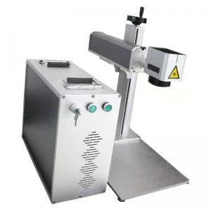 China 20w 30w Portable Mini Laser Engraving Machine Metal And Wood barcode Split Type on sale
