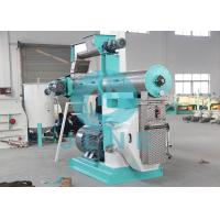 Poultry Livestock Feed Pellet Machine / Animal Feed Pelletizer 1 ~ 20t/H Manufactures