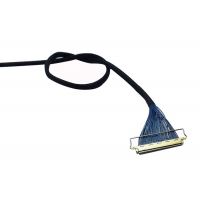 China 15 Pin 7.3mm 1.0mm 200mm LVDS Video Cable on sale