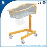 Steel Height Adjustable Medical Hospital Beds Neonatology , Baby Crib / Cart Manufactures