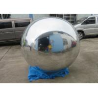 China 2m Silver Helium Balloon And Blimps Stage Decoration Ball For Fashion Show for sale