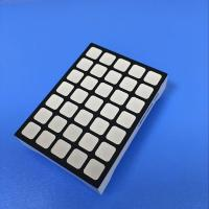 6mm Square Dot Matrix Led Display Column Anode For Elevator LOP Manufactures