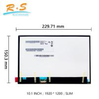 China 10.1 inch Touchscreen LCD Monitor B101UAN01.7 1920x1200 IPS LCD Module for tablet PC WXGA on sale
