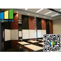 China restaurant Fabric Wall White Bi Fold Internal Doors 30 -  48 Inch Width on sale