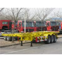 skeleton trailer , 40ft skeleton trailer , CIMC 40ft skeleton semi trailer Manufactures