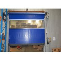 Low Fault Rate High Speed Industrial Doors Stable Security Interior Rolling Up For Sale Of