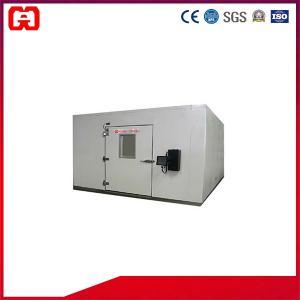 China Power Saving Battery Tester 15cbm Constant Walk in Humidity Chamber GAG-H215 Rigid Polyurethane Foam on sale