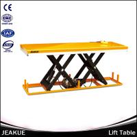 2000/4000kg High Hydraulic Lifting Heavy duty Battery Scissors Electric Lift Table Manufactures