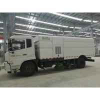 Cummins 140HP Street Cleaner Truck , Road Washing Truck With Monitor Manufactures