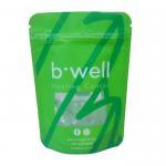 Matte effect & Large capacity food grade plastic aluminum foil zipper packaging bags for food/Tea Manufactures