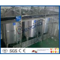 Buy cheap 8000 - 10000BPH Functional Beverage Soft Drink Production Line With Bag Type Duplex Filter from wholesalers