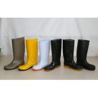 PVC Working Safety Boots with Steel Toes, Steel Mid-insole Manufactures