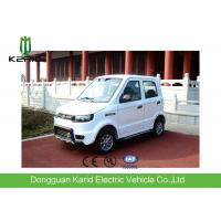 Battery Powered  Electric City Car With 4 Seats All Electric Vehicles White Color Manufactures