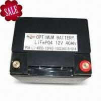 Green Energy Lifepo4 Starter Battery For Electric Toy 12 Volt 40ah Manufactures