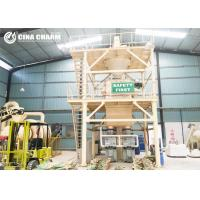 Power Switch Control Dry Mix Mortar Plant Dust Proof With Screw Conveyor Manufactures