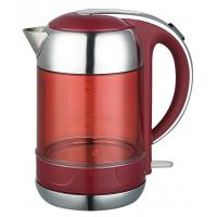 China high quality of 360° cordless Stainless steel electric kettle with double walls on sale