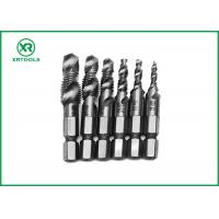 HSS Combination Drill And Tap Set For Machine With Fully Ground Process