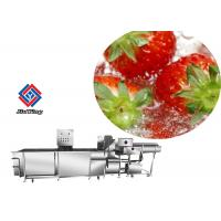 Auto Vegetable Fruit Washing Machine Salad Spinach Strawberry Cleaning Manufactures