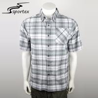Buy cheap Eco Friendly Mens Vented Fishing Shirts , Mens Fitted Short Sleeve Shirts XS - from wholesalers