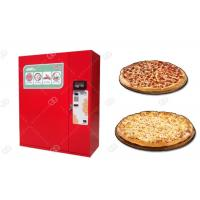 China Fast Food Sandwich Pizza Vending Machine / Snack Food Vending Machines Business India on sale