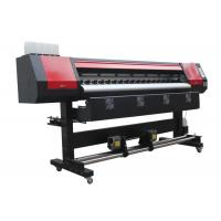 Stable Quality 1.8m Eco Vinyl Printing Machine with High Resolution Manufactures