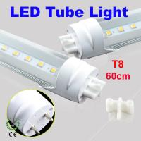 China T8 60cm 2835 LED Tube Light rigid aluminum Energy Saving 85~265V wholesale