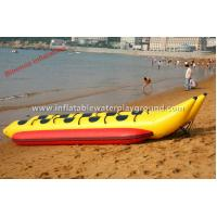 Surfing Sports Boat Inflatable Towables , Double Lane Inflatable Boat Tubes Manufactures