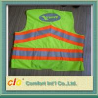 Red / Green Road Security Reflective Safety Jacket warning vest Road Maintenance Worker