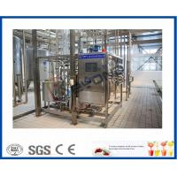 China ISO 10000LPD stirred Industrial Yogurt Making Machine with plastic containers or cups package on sale