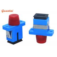 China FC To SC UPC Fiber Optic Adapters Singlemode Or Multimode For Telecommunication on sale