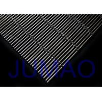 Aluminum Alloy Architectural Metal Fabric Flexible Woven Wire For Exterior Manufactures