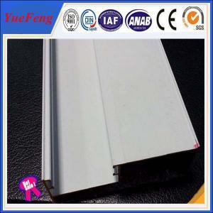 China extrusion supplier of aluminium windows white powder coating Manufactures