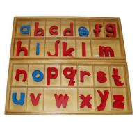 Large Wood Movable Alphabet, Print with Boxes