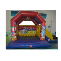 Buy cheap Fire Retardant Inflatable Combo , Square Inflatable Castle Bounce House With from wholesalers