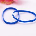 Custom colorful eco-friendly plastic tpu elastic hair rubber band Manufactures