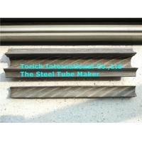 Painted Rifle Seamless Carbon Steel Pipe With Fin On Two Sides Manufactures