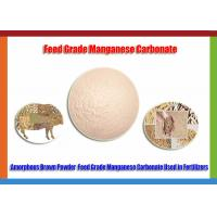 CAS No.598-942-9 Manganous Carbonate Food Grade , High Purity MnCO3 Powder Manufactures