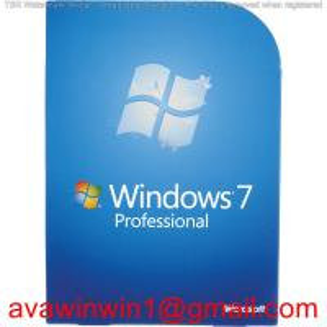 Spanish Multi Language Microsoft Windows 7 Pro Retail Box For DIY 100% Original Full Package Manufactures