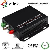 1-ch video, 20km, Single Mode Fiber CCTV Fiber Optic Converter Manufactures