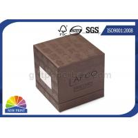 Quality Soy Ink Printing Chipboard Box Packaging Front Window 3-Piece Rigid Gift Box for sale