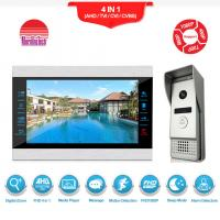 China Recordable video door phone intercom 7 inch AHD1080P video doorbell on sale