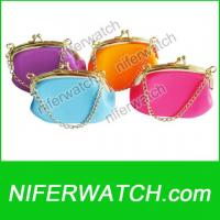 Silicone Luxury Coin Purse Bag Manufactures