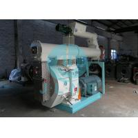 90kw Cattle Animal Feed Pellet Machine 400mm Ring Die 50HZ ISO Approved Manufactures